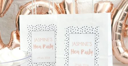 Helpful hunks bes tpersonalised hens party favours
