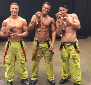 male stripper costume firefighter helpful hunks
