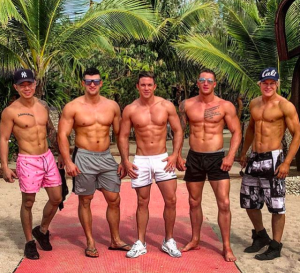 Helpful hunks male stripper mates