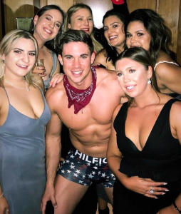 helpful hunks male stripper private party